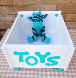 Just Fur Dreams - Pet Toy Boxes