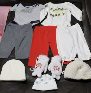 6-12 BABY BOY'S CLOTHES & SHOES ALL FOR $4