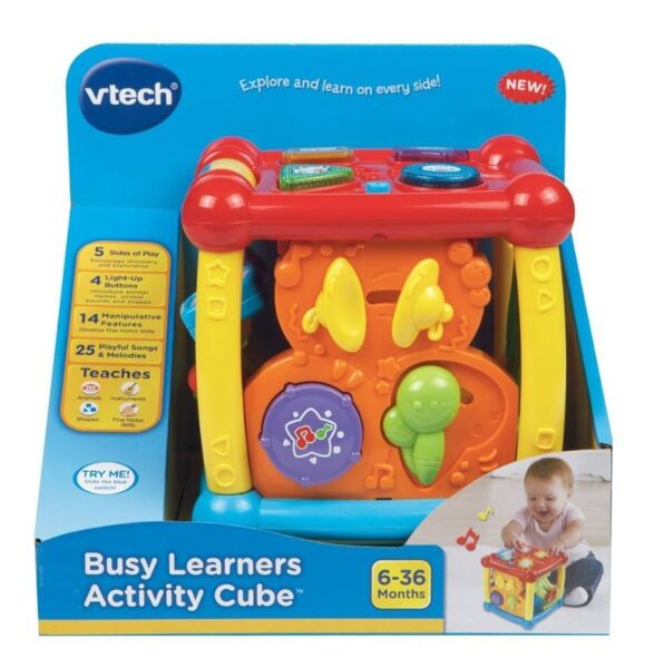 BNIB: VTech Busy Learners Activity Cube