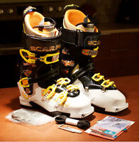 SCARPA MAESTRALE RS TOURING BOOTS, SIZE 27