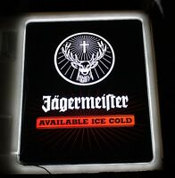 Jagermeister LED Light Up Sign