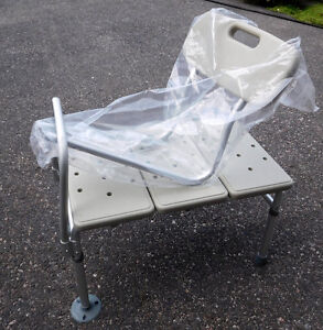Bath bench and Toilet Assistive Bars