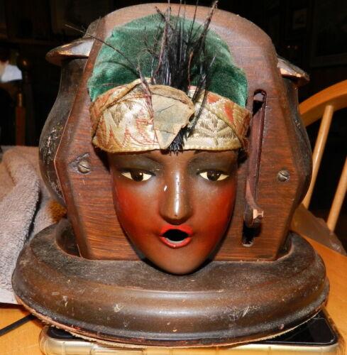 Cigarette Dispenser Kindel & Graham Lady Gypsy Head Needs Love Not Branded