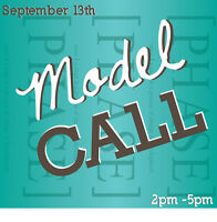 MODELS WANTED for fashion show