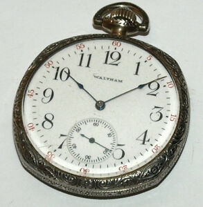 Waltham Pocket Watch - Size 12 With 15 Jewels West Island Greater Montréal image 1