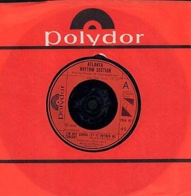 """Atlanta Rhythm Section(7"""" Vinyl)I'm Not Gonna Let It Bother Me Tonight -VG/VG+"""