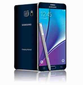 Samsung Note 5 32GB, Rogers/Fido, No contract *BUY SECURE*