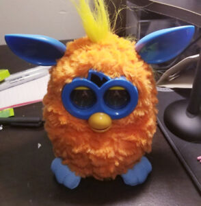 Furby 2012 Orange and Blue Working New