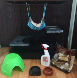 Small Animal / Rat Cage and accessories
