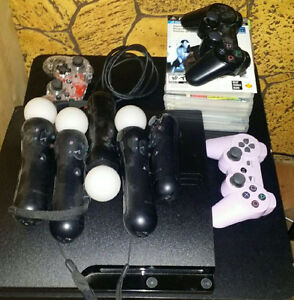 PS3 and accessories