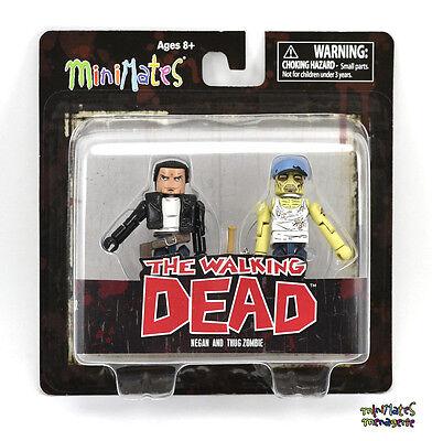 Walking Dead Minimates Tru Spielsachen R Us Welle 7 Negan & Schläger Zombie (Walking Dead Sachen)