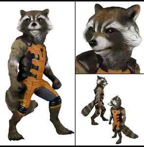 Neca guardian of the Galaxy - rocket raccoon life-size