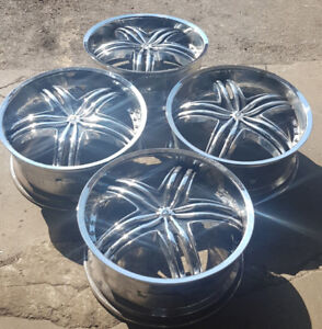 $500- 4 used sport rims R20 ( 5 bolt  pattern)