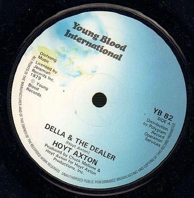 "Hoyt Axton(7"" Vinyl)Della & The Dealer / Gotta Keep Rollin-Young blood-VG/Ex"
