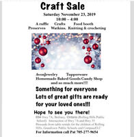 Annual Craft Sale