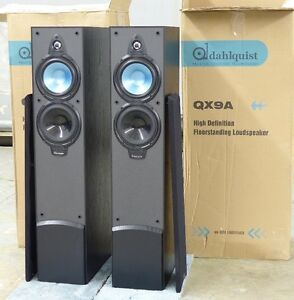 REDUCED!! DAHLQUIST QX9A Floorstanders New In Box REDUCED!!