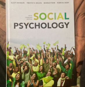 Social Psychology-Fifth Canadian Edition (Pearson's MyLab)