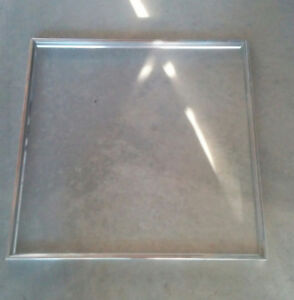 """EXTRUDED ALUMINUM  24 X 24"""" PICTURE FRAMES PIECES"""