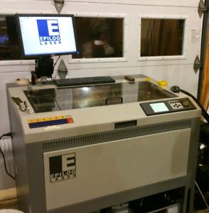 Machine a graver et découper Laser 25w Epilog
