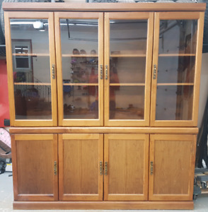 Buffet China Cabinet - Solid Wood