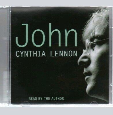 JOHN LENNON CYNTHIA LENNON RARE 2 x CD AUDIO BOOK BEATLES LENNONS LIVERPOOL