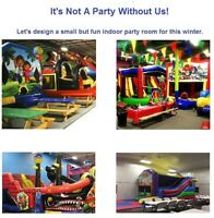 All year bouncy castle rentals kids parties