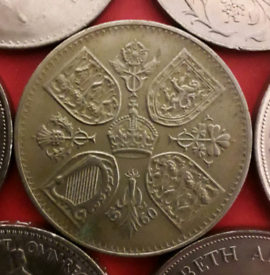 NY Exhibition 1960 crown coin