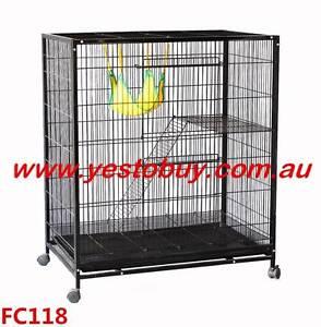 Ferret Bird Cage Parrot Cat Hamster Rat Pet Budgie Aviary Oakleigh Monash Area Preview