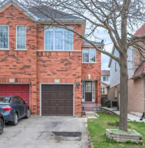 Beautiful Semi-Detached 3 Bdr with 2Bdr Basement Appartment