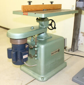 "Poitras Spindle Shaper 3/4"" - Model 2800B  For Sale"