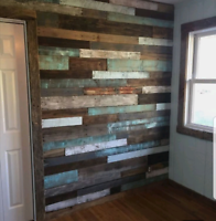 Pallet walls custom to every home!