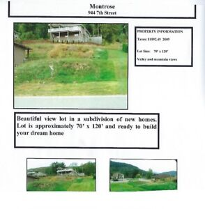 Lot for Sale Montrose, BC