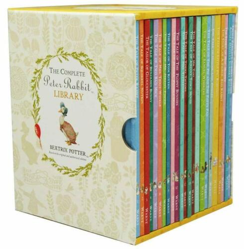 The Complete Peter Rabbit Library 23 Volume Box Set Beatrix Potter BRAND NEW