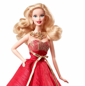 BRAND NEW IN BOX: Barbie Collector 2014 Holiday Doll