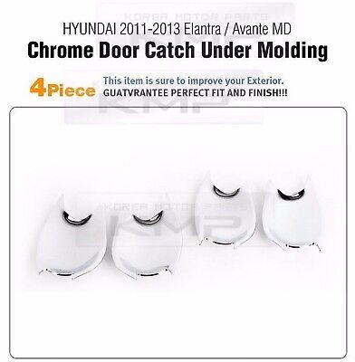 Chrome Side Mirror Cover Molding Trim K339 for HYUNDAI 2011-2016 Elantra MD