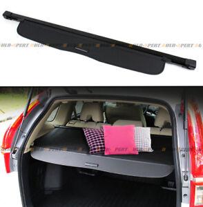 For 2012-16 Honda CR-V CRV OE Style Retractable Cargo Cover Luggage Shade- Black
