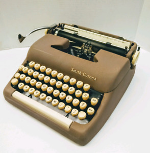 ***SOLD*Smith Corona Sterling Typewriter, cleaned, refurbished,