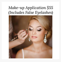Make-up Application, Weddings, Special occassions