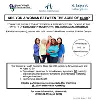 Are you 40 to 60 and want relief from your menopausal symptoms?