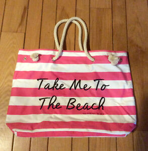Victoria's Secret Beach Bag With Rope Handles - St. Thomas