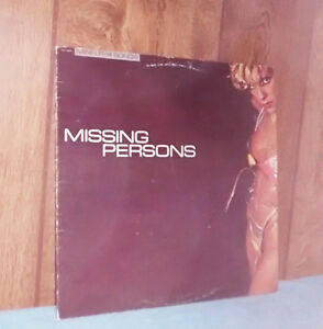 Missing Persons Record - Disque Vinyle