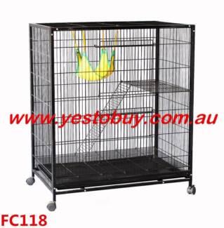 Ferret Bird Cage Parrot Cat Hamster Rat Pet Budgie Aviary