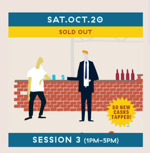 Cask Days Ticket - Session #3 EARLY ACCESS (12PM TO 5PM)