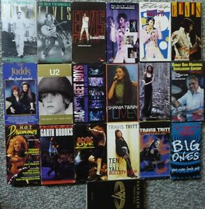Music VHS tapes Prince George British Columbia image 1