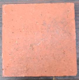 Vintage Terracotta Floor Tiles x126