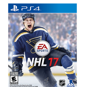 NHL 17 PS4 LIKE NEW! ONLY $40