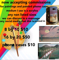 Now accepting commissions
