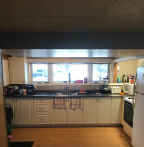 1 spacious 1 bedroom basement apartment all included 900$ Hanmer