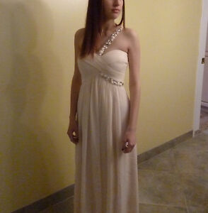BCBG MAXAZARIA Prom or cocktail dress with shoes