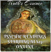 Psychic Readings Starting at $25.00 for an online reading